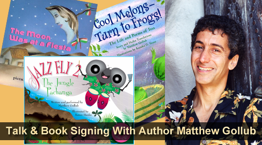 Author Talk with Matthew Gollub